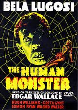 The Human Monster (1939)-DVD- Hugh Williams-Greta Gynt-Bela Lugosi-ALP 4004D