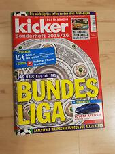 Kicker Sonderheft Bundesliga Saison 2015-2016