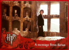 HARRY POTTER & GOBLET OF FIRE - Card #47 - MESSAGE FROM SIRIUS - CARDS INC. 2005