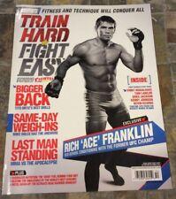 10/12 TRAIN HARD FIGHT EASY MAGAZINE - RICH ACE FRANKLIN UFC - MMA - US Edition
