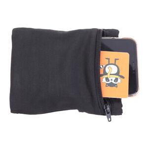Travel Black Wrist Wallet Pouch Portable Pocket Key Zipper Sport Wrist Be L S❤