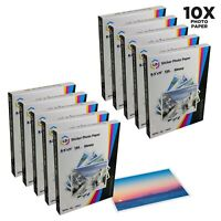 10p LD Glossy Inkjet Photo Paper 8.5 X 11 100 pack - with Sticker 1000 total pgs