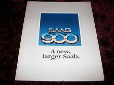 SAAB 900 BROCHURE 1980 Inc prezzi-Inc EMS, GLE & Turbo-RARE