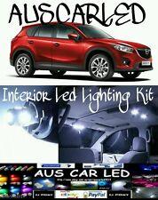 Mazda Cx-5 cx5 bright White LED Interior Lighting bulb globe kit package