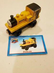 Thomas Train 99085 Wooden Railway Duncan Character Card 2000