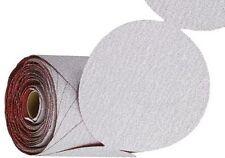"5"" Diameter 180 grit 250 Sanding Discs Sander pads Sand Paper Roll PSA disks S/C"