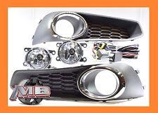 2013-2014 Subaru Legacy BM9 Fog Lights Clear Lamp Bulbs+Wirings+Switch- KIT
