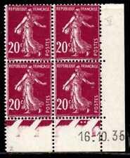 Coin daté Semeuse n° 190b du 16/10/1935 **