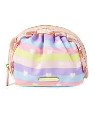 Betsey Johnson  Mini Ruffle  Cosmetic bag  NEW