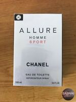 Chanel Allure Homme Sport Eau de Toilette 3.4 oz /100 ml NEW sealed Box! For Men