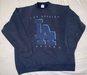 Vintage 90s Starter Los Angeles Dodgers Crewneck Sweater Men's Size XL