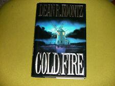 DEAN KOONTZ SIGNED COLD FIRE