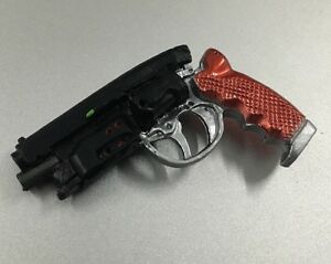 Custom Made 1/6 Scale Blade Runner Police Revolver Pistol Fit Hot Toys iminime
