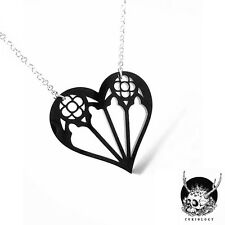 Necklace Collier Curiology Gothic Heart Coeur Gothique Architecture Baroque