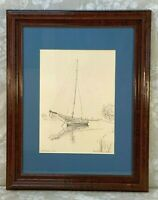 Consuelo Eames Hanks Limited Edition Print #440/600 Up the Creek Framed & Matted