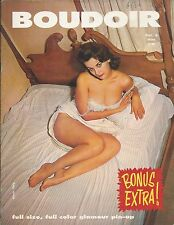 VINTAGE Boudoir Magazine volume 3 (1960) CHEESECAKE PINUP GIRLS