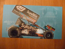 2014 Brad Sweet 6 X 11 World Of Outlaws Driver Photo Card