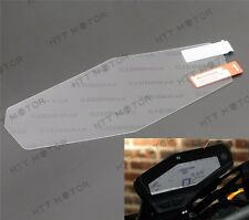 HTTMT Cluster Scratch Protection Film Blu-ray Protector for Yamaha FZ09 MT09