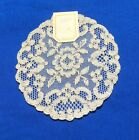 +Antique++French+Alencon++Lace+Doily+Coaster+with+Tag