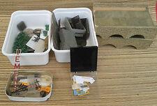 Lot de piéces train miniature, modélisme train maquette  old french model