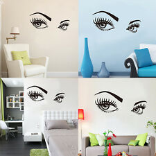 Audrey Hepburn's Beautiful Eyes Quote Wall Sticker DIY Decal Vinly Home Decor.