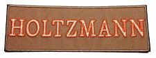 Ghostbusters HOLTZMANN Name Tag Tan Embroidered Iron On Patch