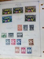 Ecuador Stamp Set Air Mail