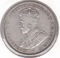 CB1452) Australia 1932 Florin, about VF condition. Key date, fault free coin