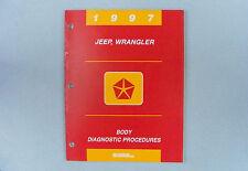 Body Diag. Procedures, Airbag/Instru/Comm, 1997 Jeep Wrangler (TJ), 81-699-95207