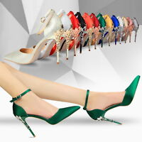 Sexy High Heels Shoes Party Wedding Women Pumps Heels OL Dress Shoes Sandals