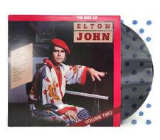 Elton John - Best Of Volume 2 1981 Cbs Vinyl Record #Bs-16197 Rock Pop Glam