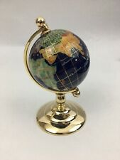 Brand New Blue 220mm Globe and Stand with Box