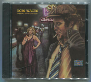 TOM WAITS * THE HEART OF SATURDAY NIGHT * 1974 * CD * NEW & SEALED