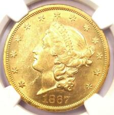 1867 Liberty Gold Double Eagle $20 Coin - NGC Uncirculated Details (UNC MS)!