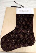 New Lookfantastic Large Christmas Socking Unisex Purple, White, Gold