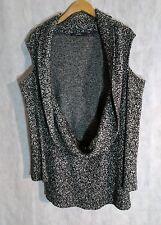 Limi Feu Deconstructed Open Shoulder Knit Sweater Dress Yohji Yamamoto Small