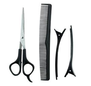 Professional Hair Dressing Set - 4 Piece cutting Barbar Dessing uk BRUSHES COMBS