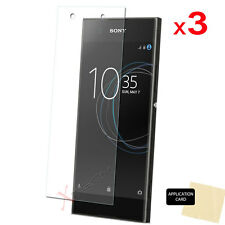 3 Pack of CLEAR LCD Screen Protector Cover Guards for Sony Xperia XA1