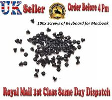 "New Apple MacBook Retina 13"" 15"" A1398 A1425 A1502 Keyboard Screw Set 100 Screws"