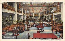 Davenport Hotel interior Spokane Washington 1930's