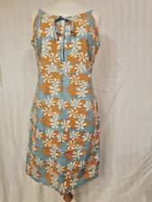 TRESSPASS Cute Surfwear Beach Dress 100% Cotton Adjustable Spaghetti Strap Sz M