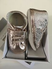 Robeez Clara Copper 18-24 Months Baby Shoes Leather