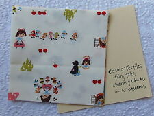 RARE Cosmo Textiles LITTLE RED, PETER PAN & SNOW WHITE FAIRY TALES Charm Pack #6