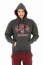 Oxford University Classic Embroidred Pull Over Hoodie - Official Licenced Produc S