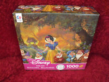 Ceaco Disney 1000 Piece Jigsaw Puzzle Snow White Among Friends Rare Hard to Find