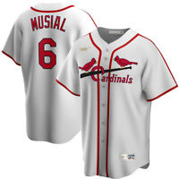 Nike St. Louis Cardinals Stan Musial Cooperstown Collection Replica Team Jersey