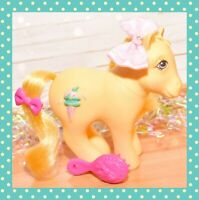 ❤️My Little Pony MLP G1 Vtg Swirly Whirly Butter Kiss Sundae Best Pony 1987❤️