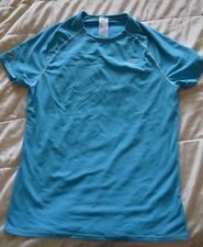 Kalenji Base Layer Short Sleeve top turquoise blue age 14 New defects