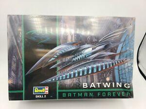 1995 Batman Forever Vintage REVELL Batwing 1:32 Scale Model Kit #6721 SHIPS FREE