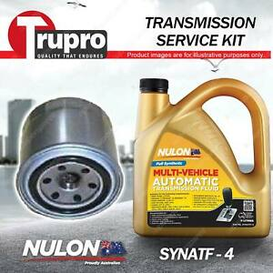 SYNATF Transmission Oil + Filter Service Kit for Hyundai Sonata EF EXT.